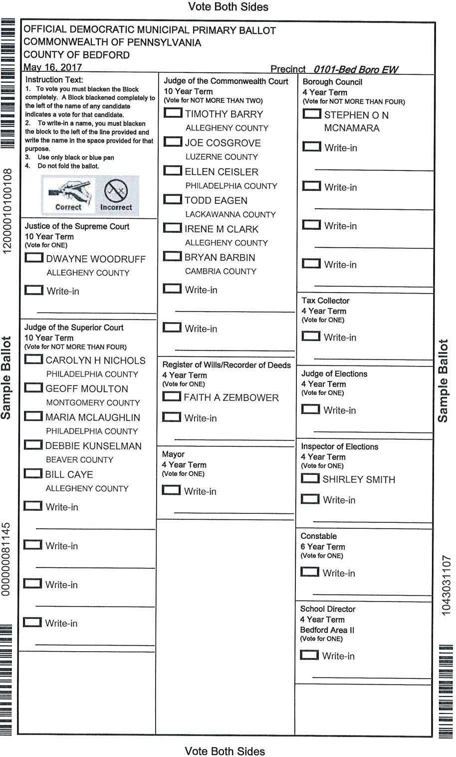 Bedford County Democrats